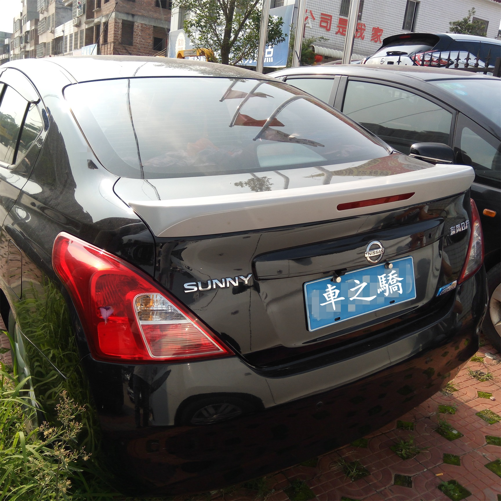 NISSAN SUNNY 2018+ SPOILER WITH LIGHT