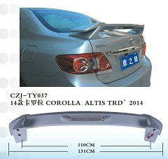 CZJ-TY037 TOYOTA COROLLA ALTIS TRD'2014