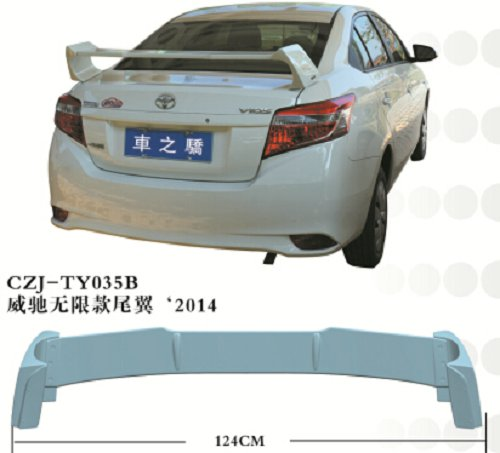 CZJ-TY035B -Spoiler Wing for Vios 2014
