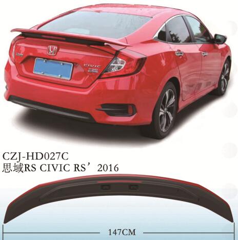 CAJ-HD027C CIVIC RS' 2016
