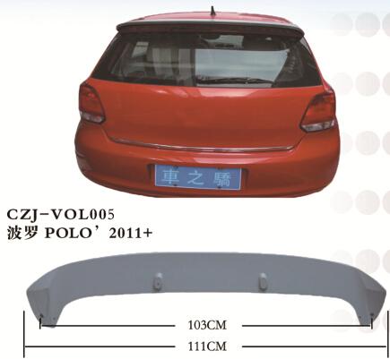 CZJ-VOL005 POLO' 2011+