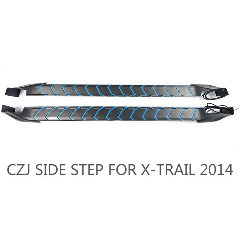 CZJ TB004 X-TRAIL 2014 SIDE STEP RUNNING BOARD