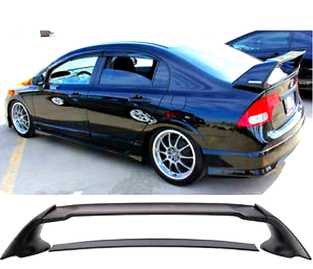 czj-hd030 civic 2006-2011 mugen spoiler