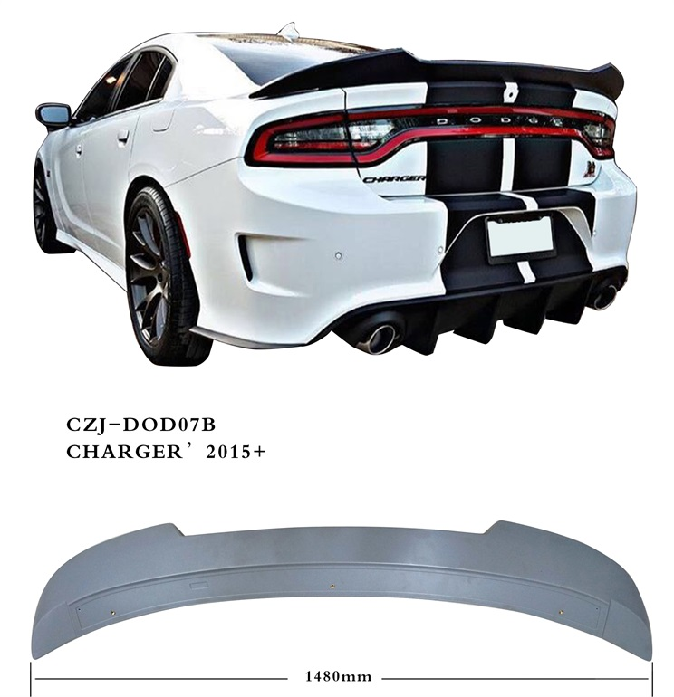 CZJ-DOD07B FOR DODGE CHARGER 2015+ SPOILER