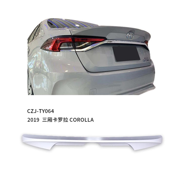 CZJ-TY064 for COROLLA 2019 ABS rear spoiler