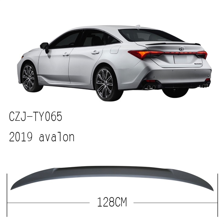 CZJ-TY065 FOR AVALON 2019 rear ABS spoiler