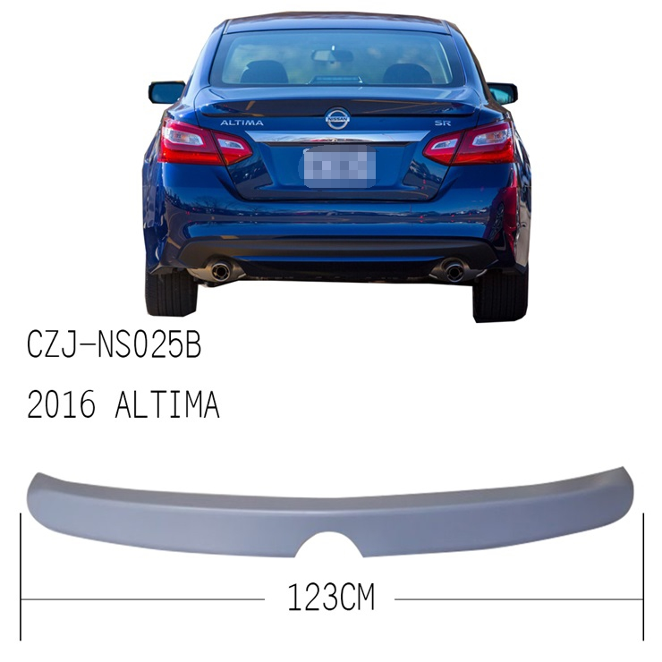 CZJ-NS025B FOR ALTIMA 2016 ABS REAR SPOILER