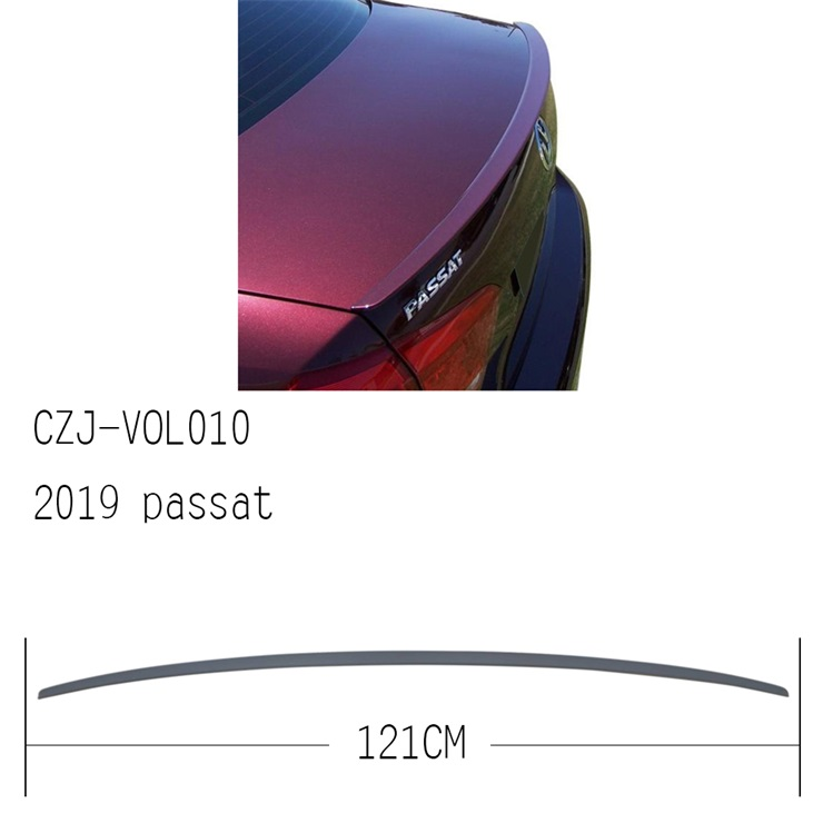 CZJ-VOL010 FOR PASSAT 2019 ABS REAR SPOILER